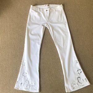 Seafarer Jeans - White denim jean